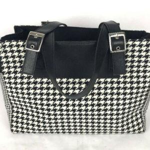Lauren Ralph Lauren Black & White Check Bag